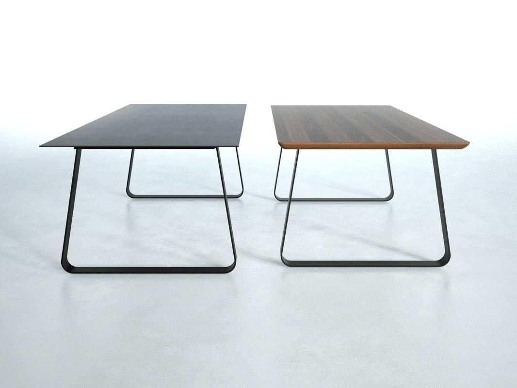 vilna dining table 200 3D model