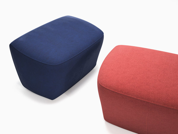 cover 2 footstool 3D model