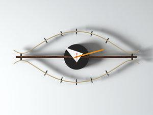 eye clock 3D
