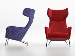 3D havana armchair