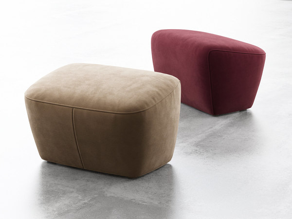 3D cover 1 footstool model