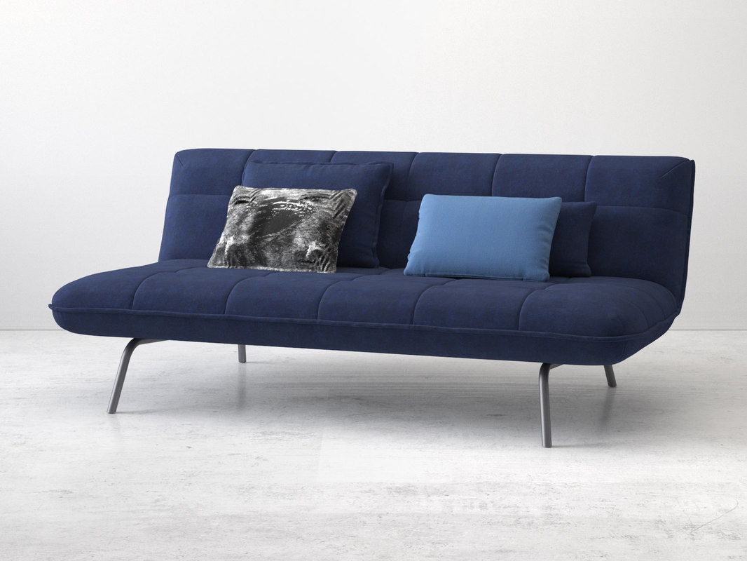 3D berlin loft sofa bed