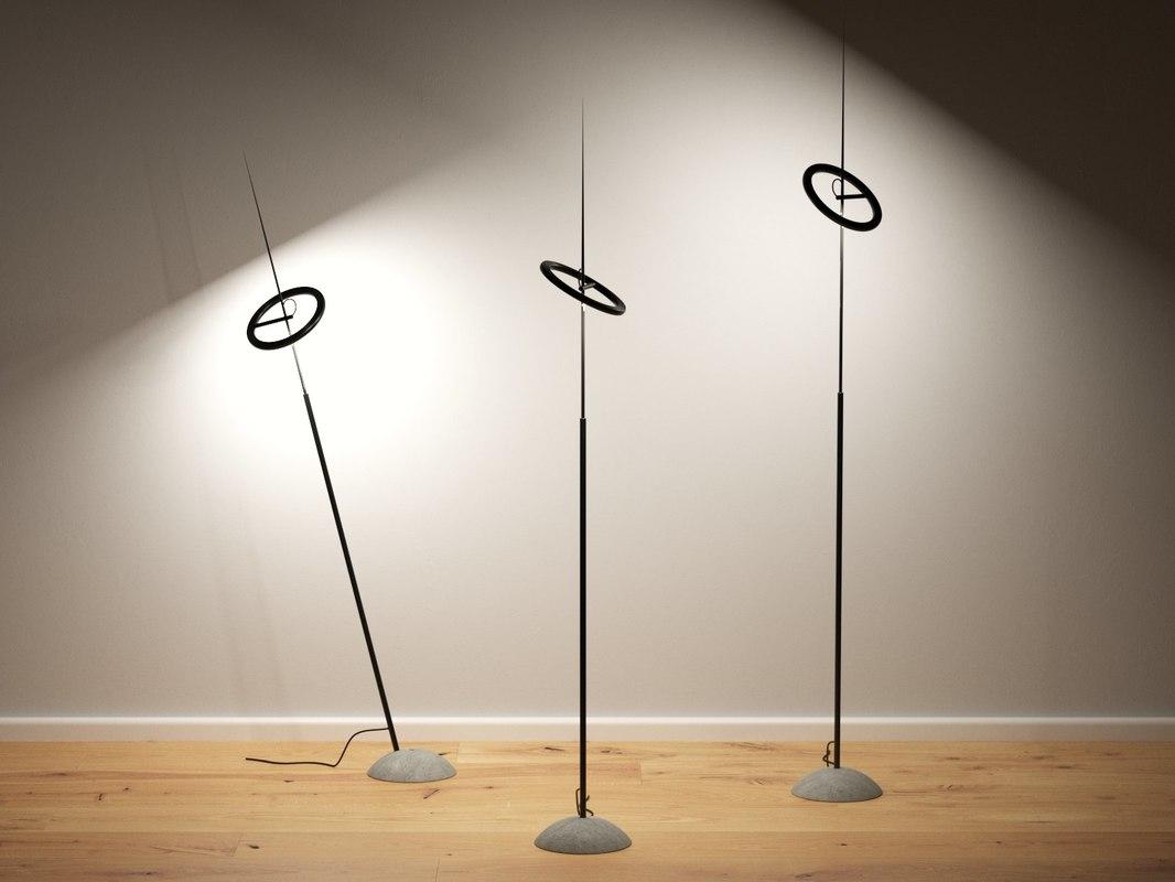 ringelpiez floor lamp 3D model