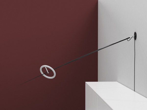 3D ringelpiez wall lamp