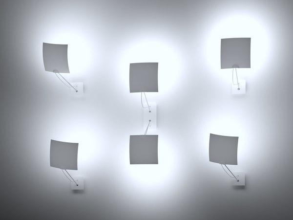 3D 18x18 twin wall lamp