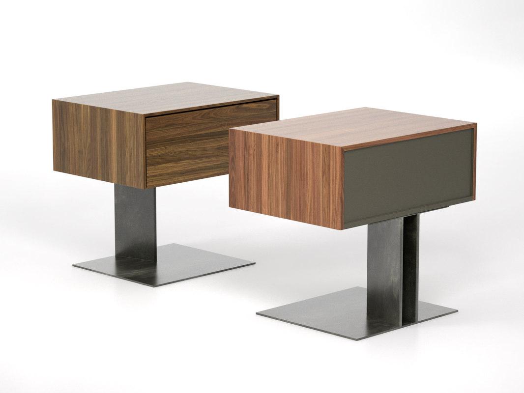 wai bedside table 3D model