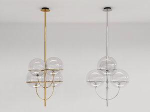 3D lyndon 450 suspension lamp model