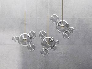 3D bolle bls4 bls6 pendant lamp
