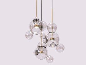 3D bolle bls14c pendant lamp model