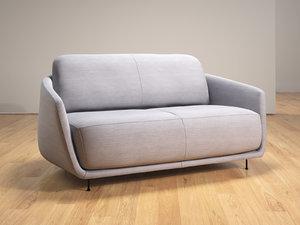 3D okura medium sofa