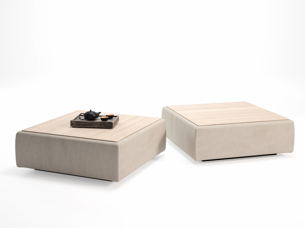 3D model ds-19 coffee table