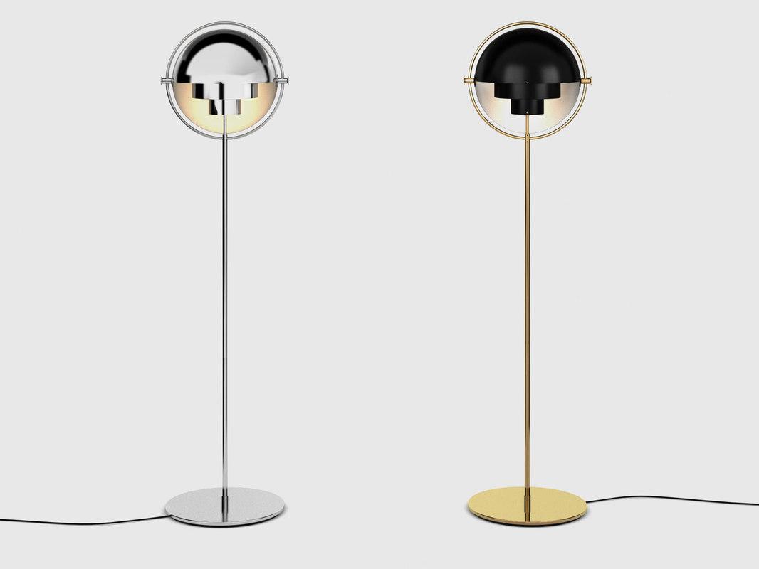 multi-lite floor lamp model