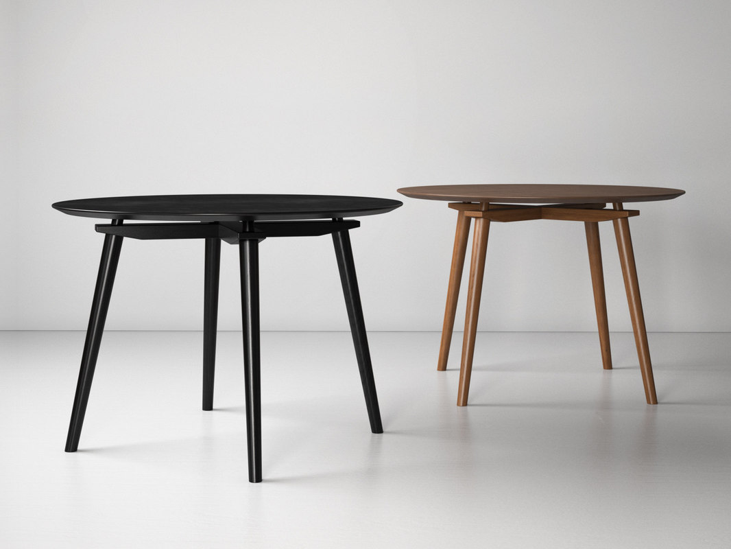 dining table cc 3D model