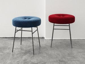 3D ilot stool model