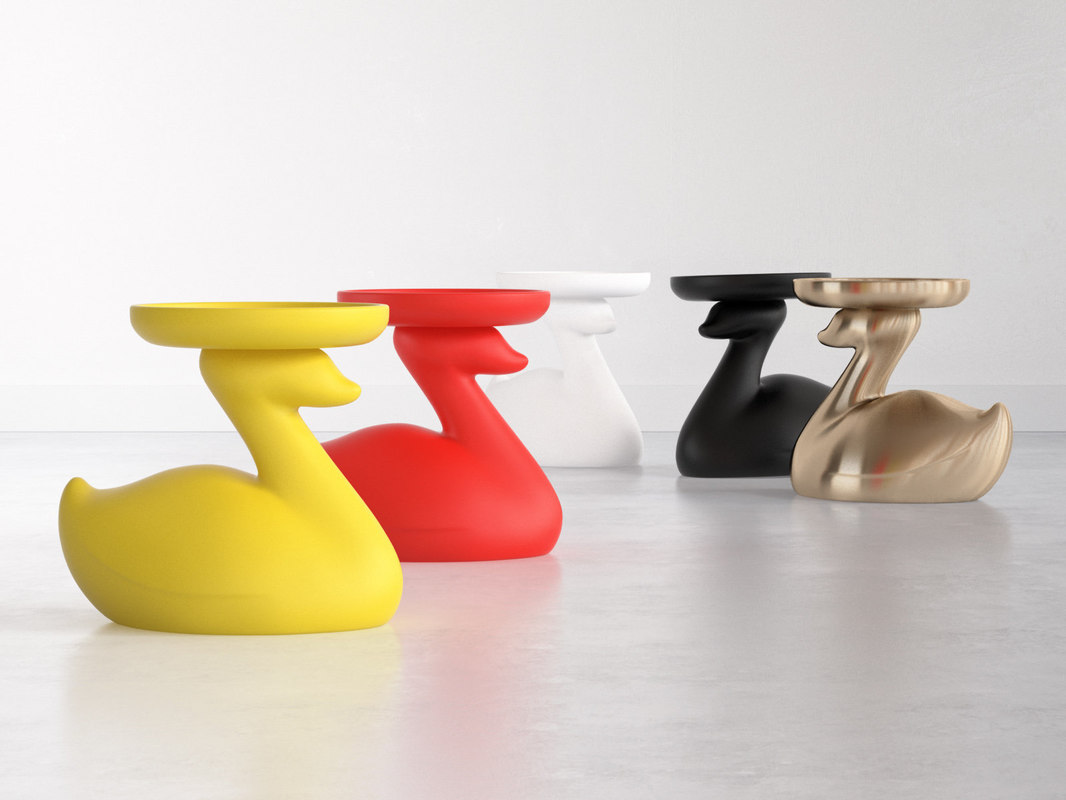 theduck table 3D