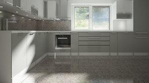 kitchen home 3D model