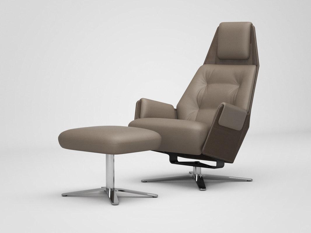 3D model 1717 mesh 805 armchair