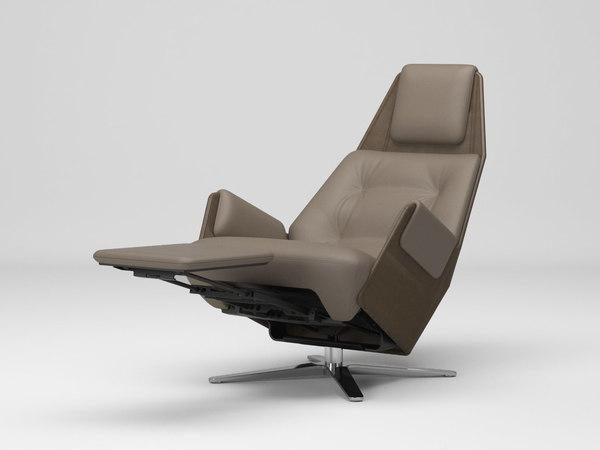 3D 1717 mesh 806 armchair