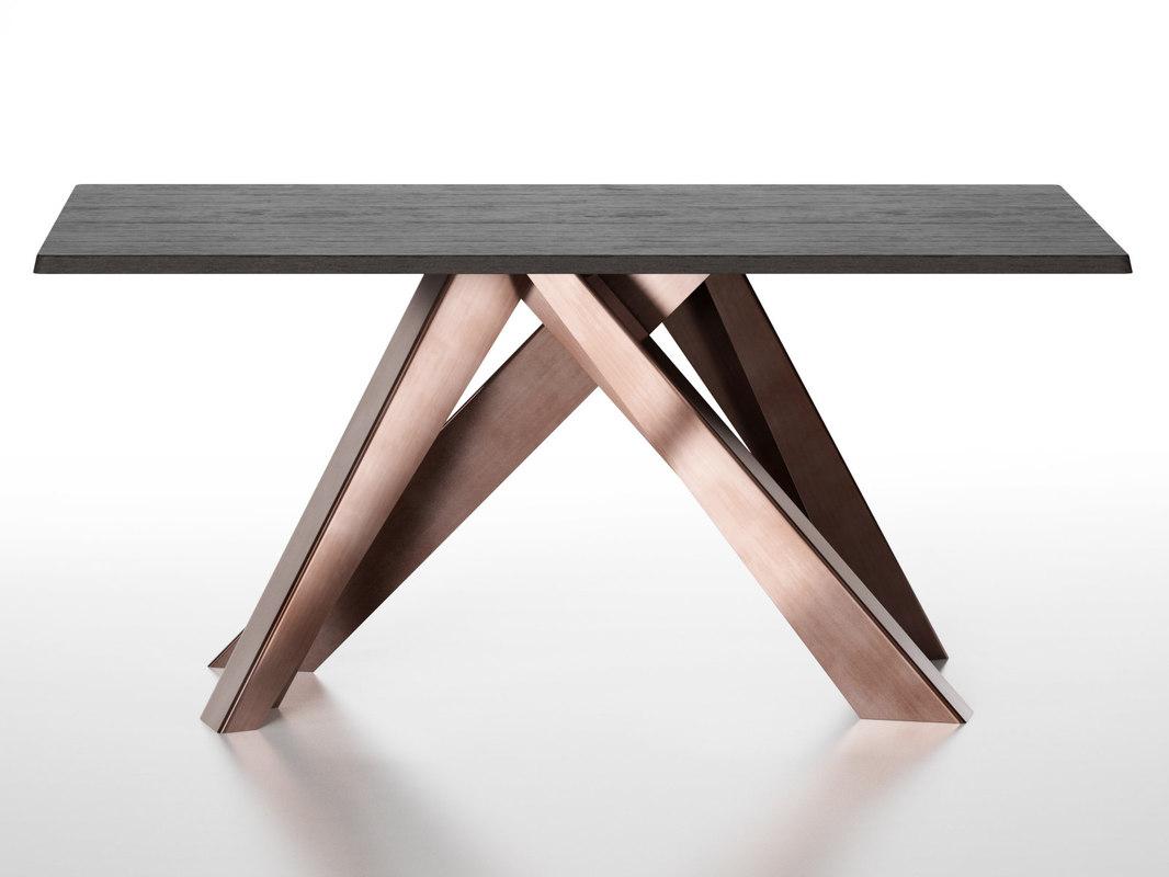 3D big dining tables