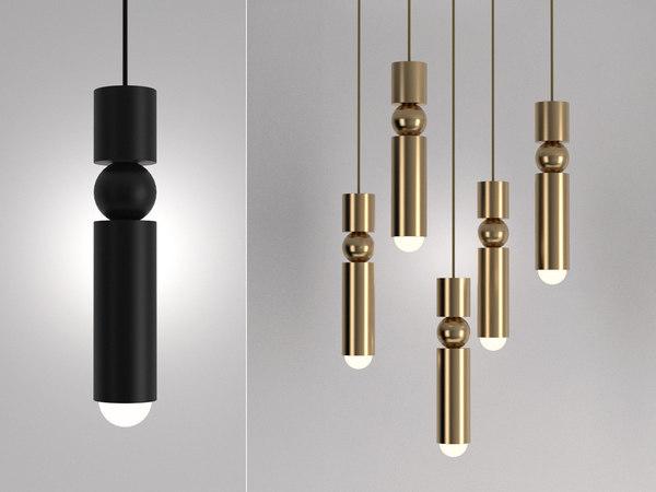 3D fulcrum lights