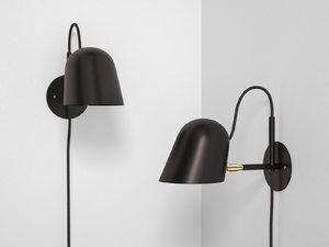 streck bedside lamp 3D