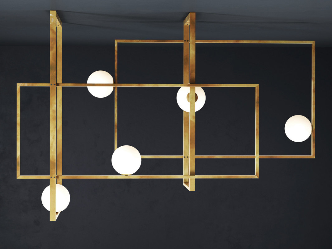 mondrian pendant lamp model