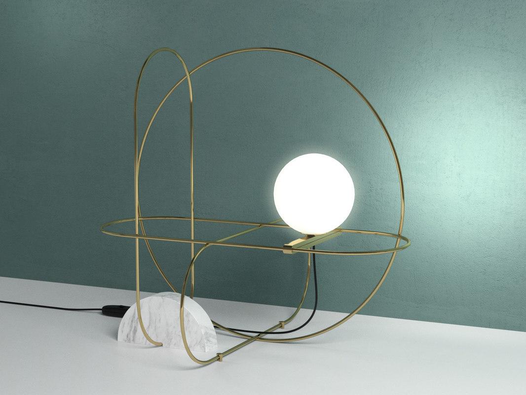 setareh 4401 table lamp 3D model