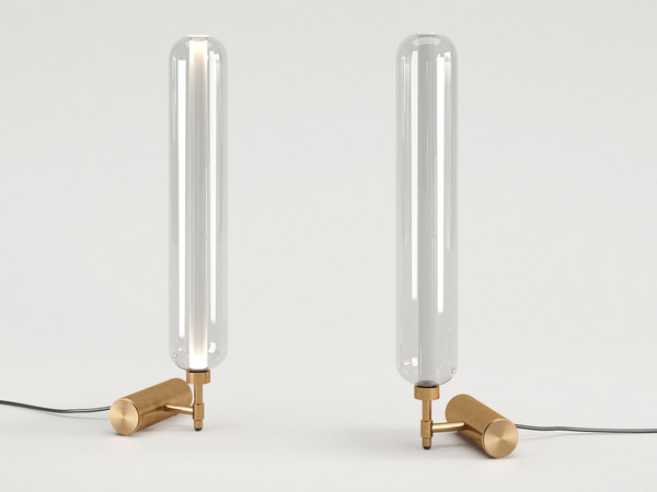 3D scintilla table lamp model