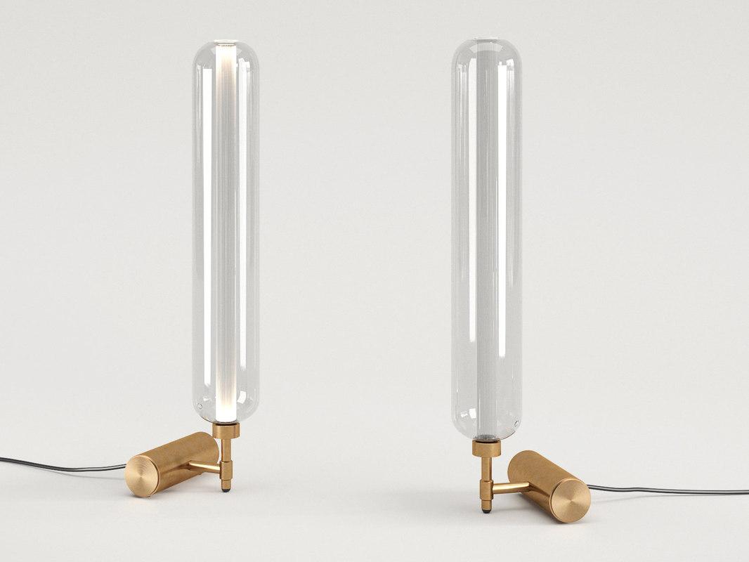 3D scintilla table lamp model