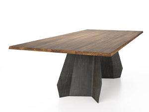 origami 250 300 dining table 3D model