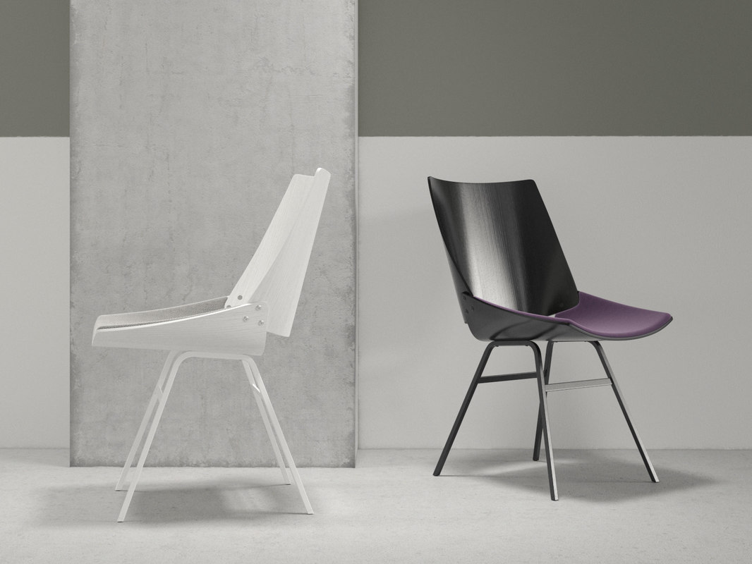 3D shell chair seat cushion
