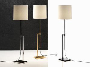 3D model palo floor lamp