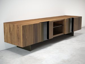 3D malay tv cabinet