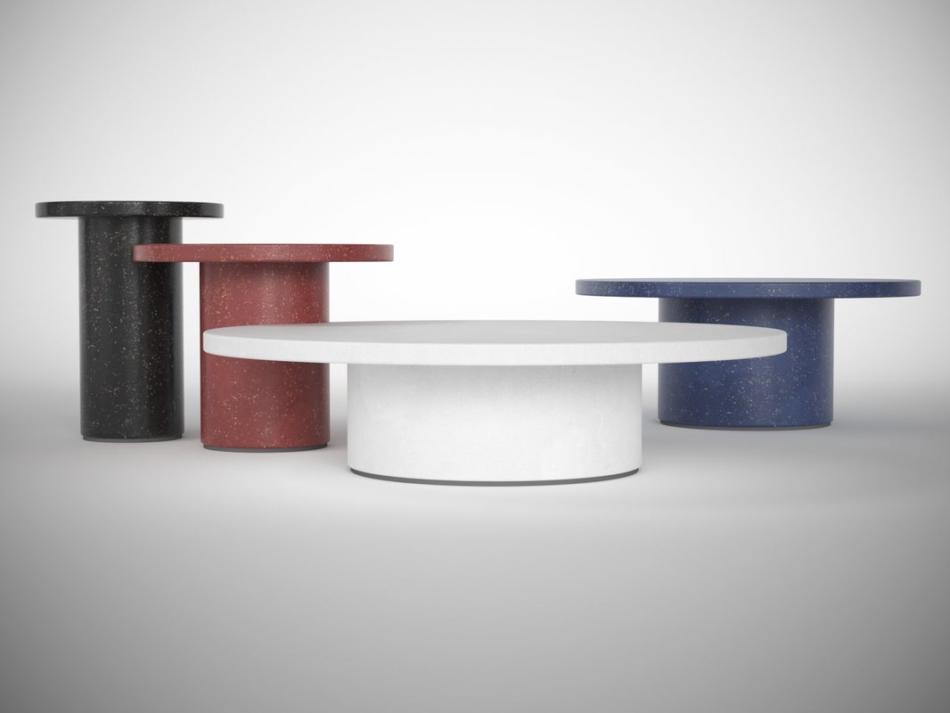 3D ds-612 coffee tables
