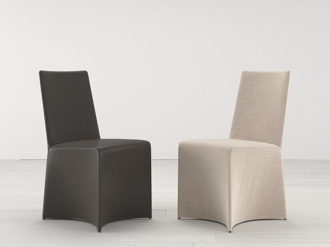 3D liry chair model