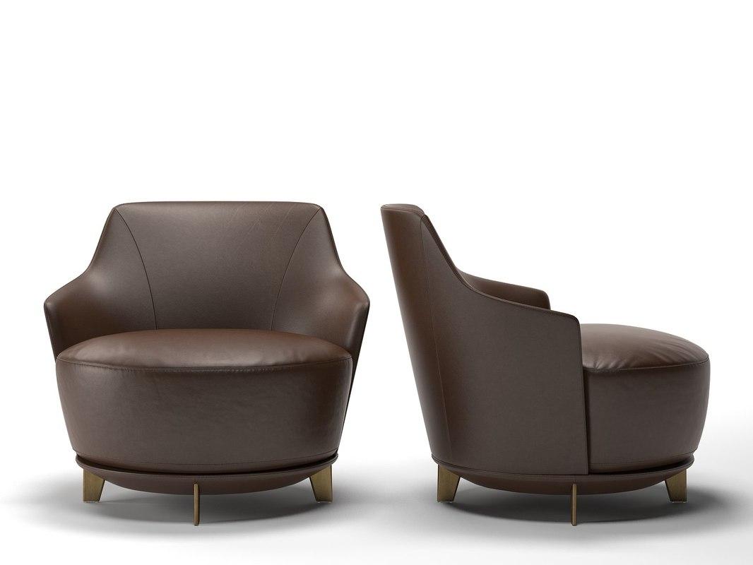 jammin armchair 3D model
