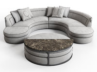 borromeo modular sofa model