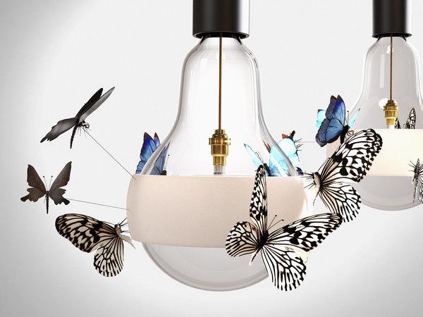 flatterby pendant lamp 3D model