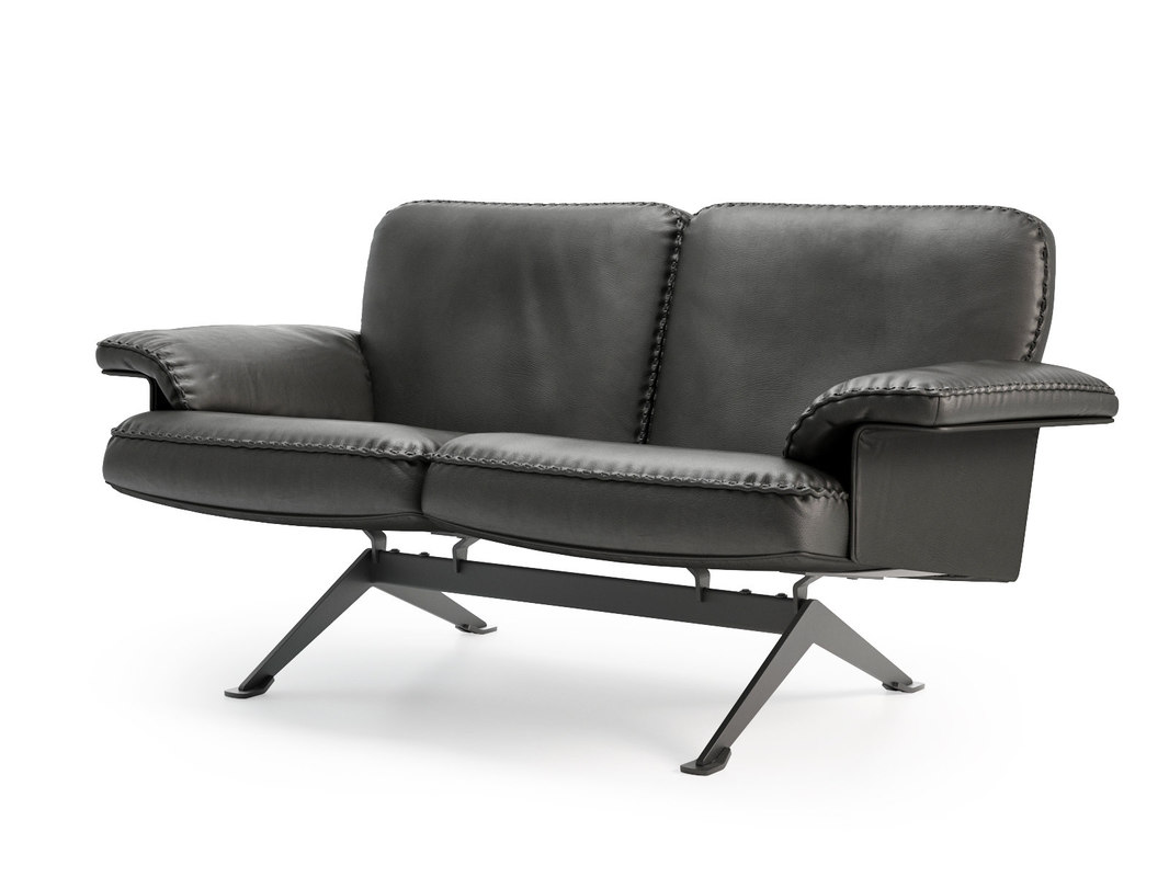 ds-31 102 2-seater sofa 3D model