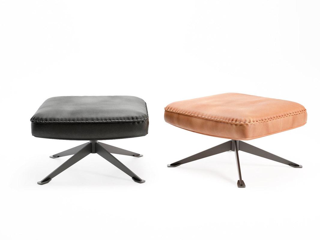 3D ds-31 105 footstool model
