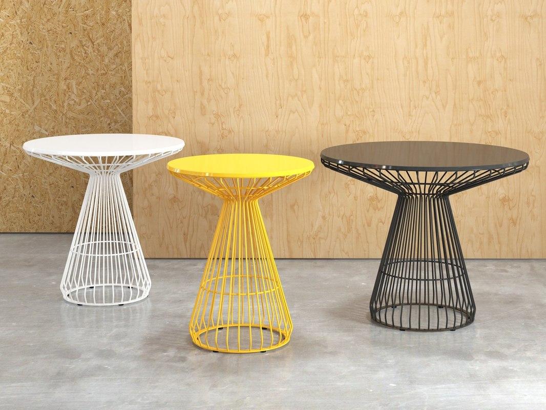 3D jil table model