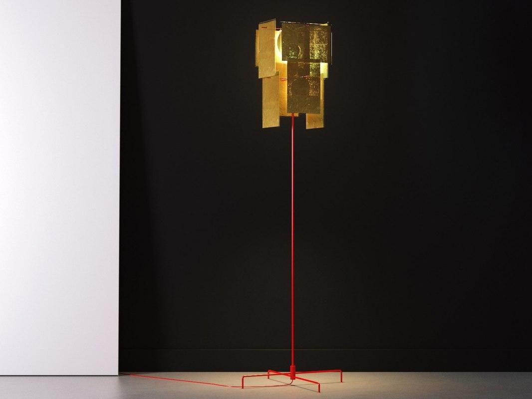 karat floor lamp 3D model