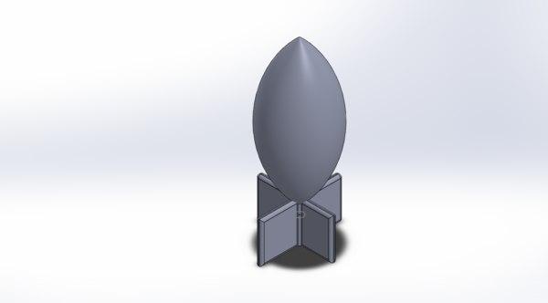 3D missile model
