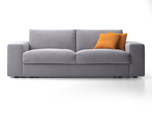 togo 2-seater sofa 3D