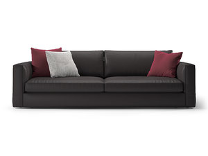 laguna 3-seater sofa 3D model