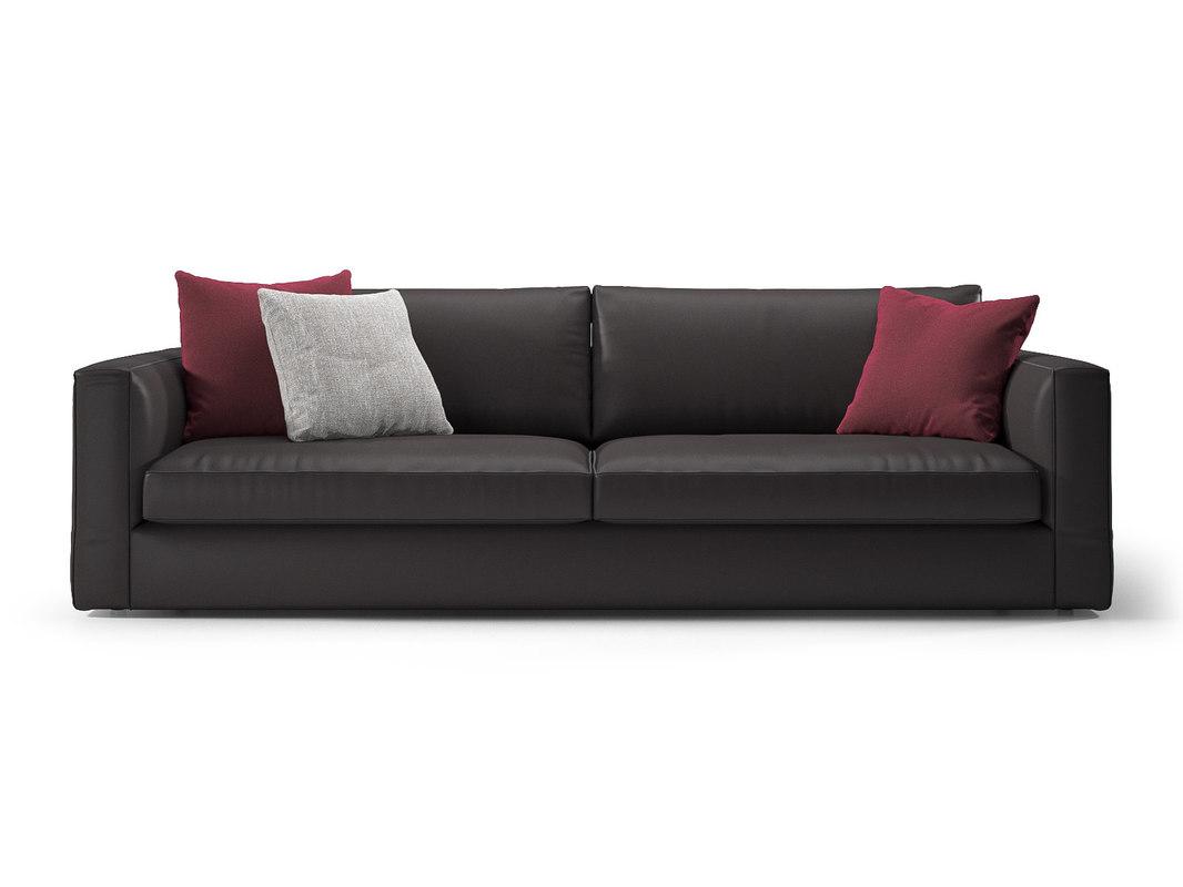 laguna 3-seater sofa 3D model
