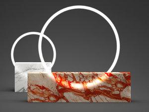 voie table lamp 3D model