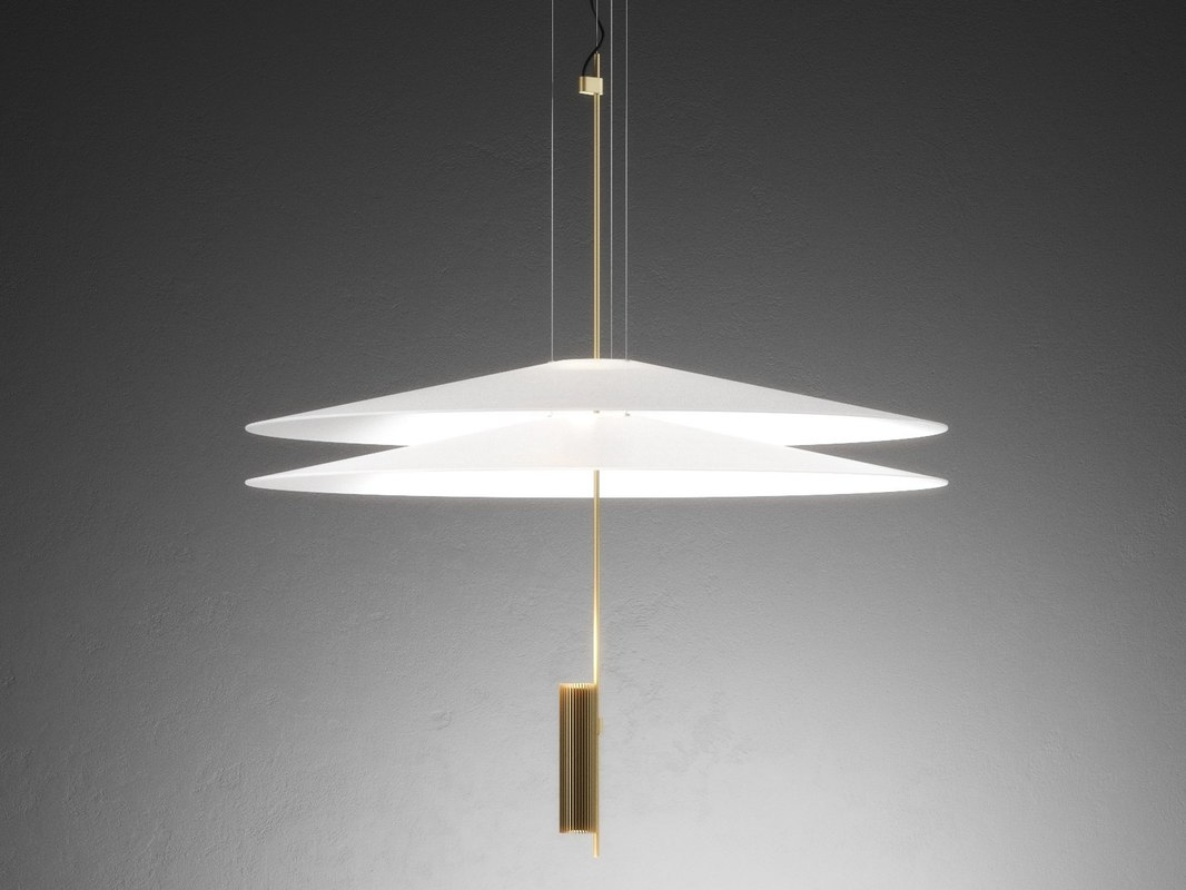 flamingo 1510 pendant lamp 3D