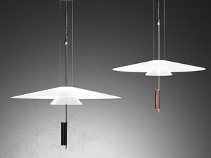 flamingo 1520 pendant lamp 3D model