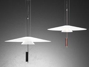 flamingo 1520 pendant lamp 3D model